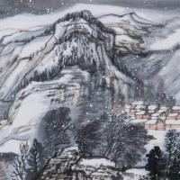 冰之精�`丨於����雪景中邂逅一���傥�美